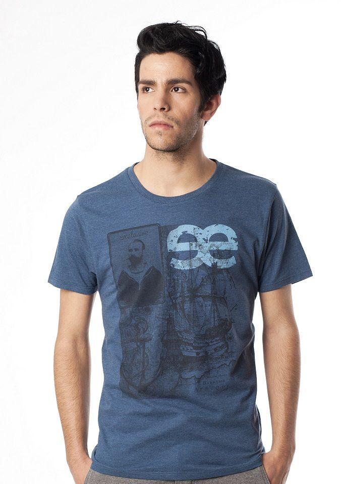 Camiseta Denim Jeans  Modelo:  SAILOR NN18