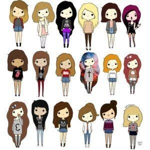 Best 25 Cartoon Girls Ideas On Pinterest Cartoon People