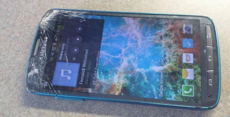 """Samsung Galaxy S4 Active gets """"lawn-mowed"""""""