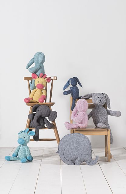 Stuffed animals by Jollein | www.babyuitzetonline.nl