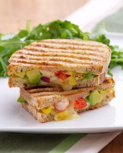 A big step up from the plain old processed cheese grilled sandwich, Rose Reisman's lobster grilled cheese sandwich recipe.