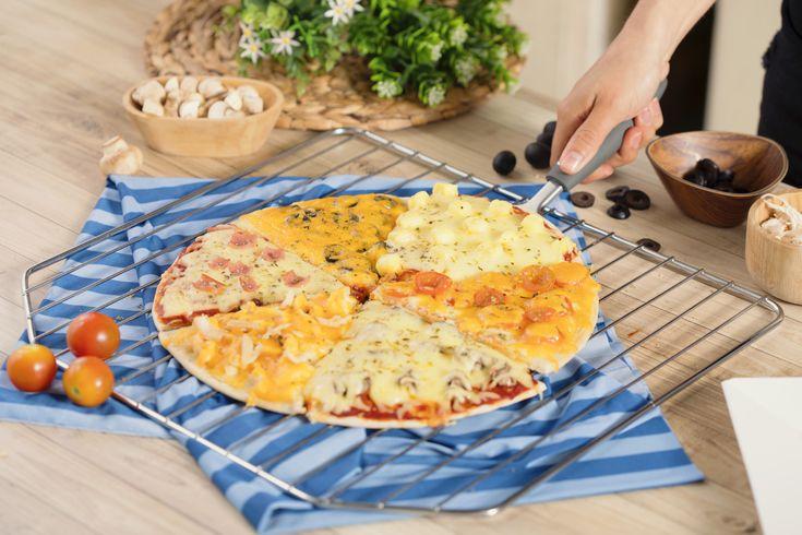 #Pizza de Sabores.  #recipe #bimbo #cocina