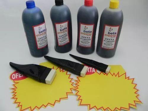 Tintas Escrita Cartazes  Vidro  1000  Ml*beta - R$ 59,99