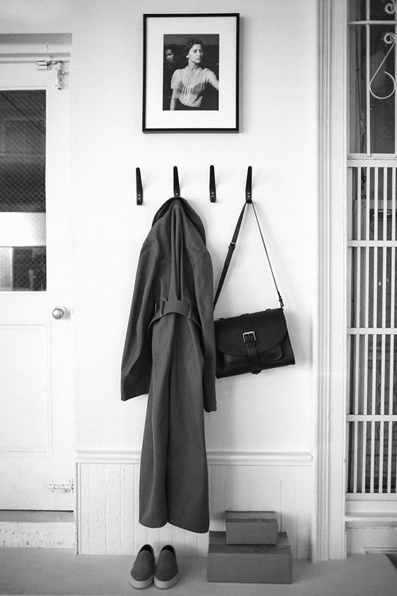 Scandinavian inspired entryway | the Apartment by The Line
