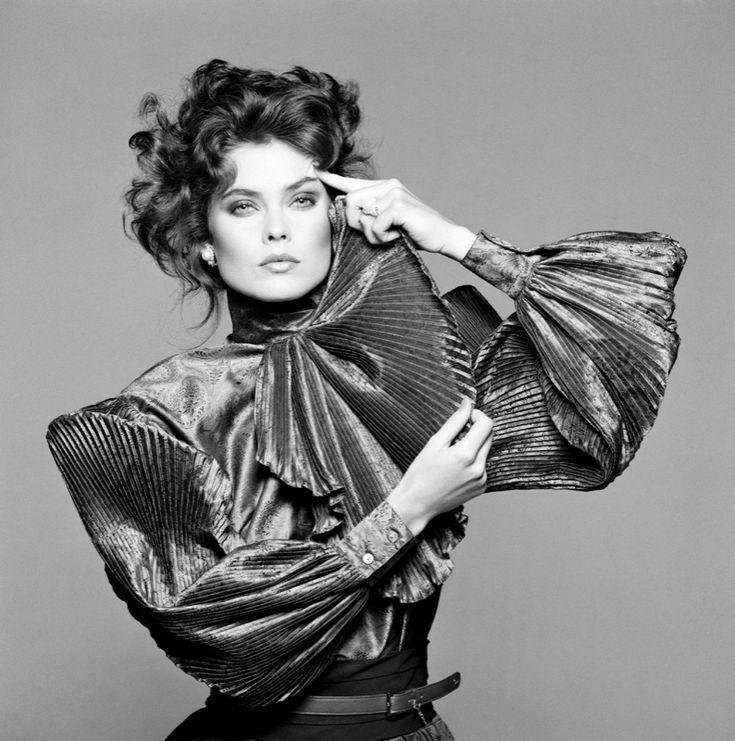 Carol Alt per Gucci, 1983