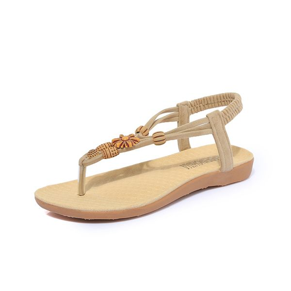 Women Summer Bohemian Beach Flat Sandals  Worldwide delivery. Original best quality product for 70% of it's real price. Hurry up, buying it is extra profitable, because we have good production sources. 1 day products dispatch from warehouse. Fast & reliable shipment (7-25 business...
