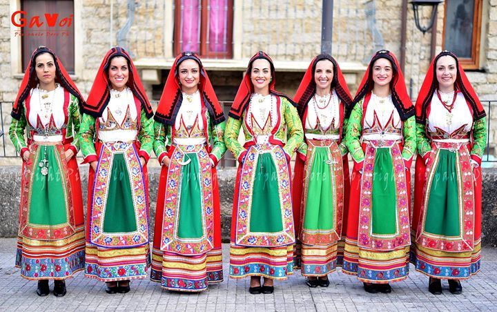 Costume di Gavoi- foto pierpaolo Dore