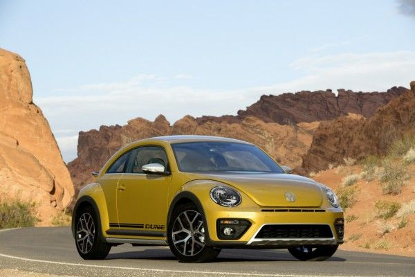 Los Angeles Auto Show World Premiere For Vw Beetle Dune Volkswagen Beetle