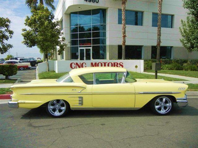 1958 Chevy Impala Sport Coupe Maintenance/restoration of ...