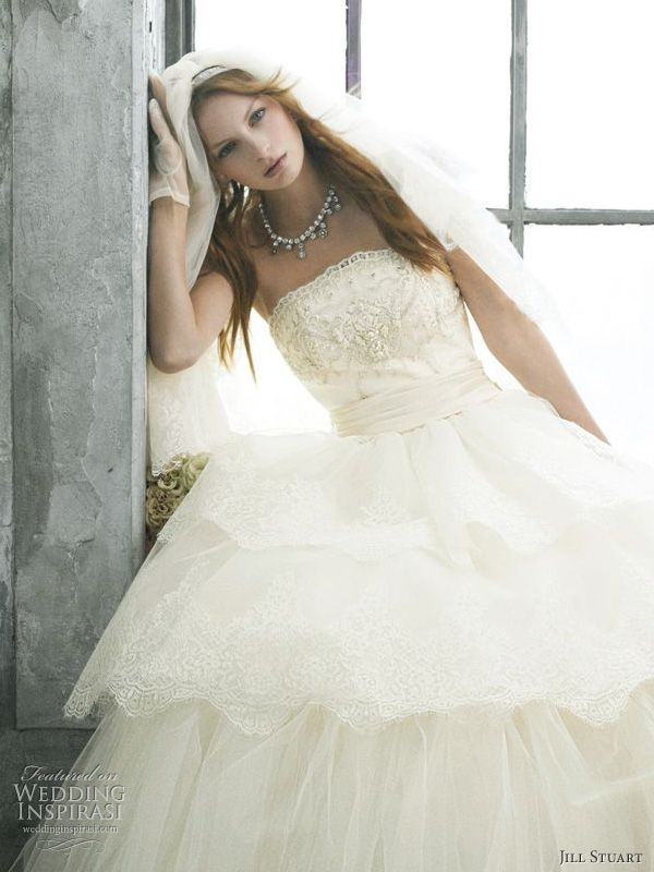 Jill Stuart Romantic Wedding Dress
