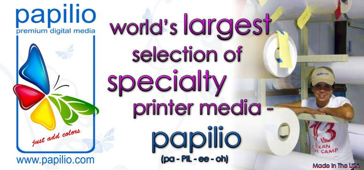 Vinyl, Foil, Decals for Pazzles, ink jet and laser printers