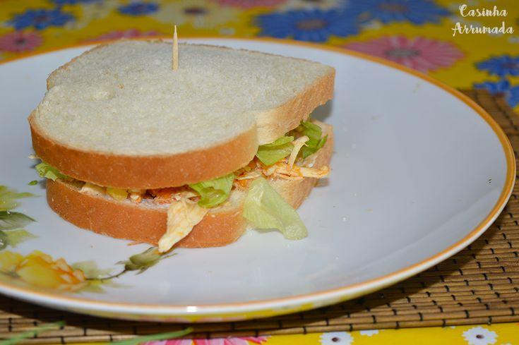 3 receitas de sanduíches naturais para o verão - Sanduíche de frango