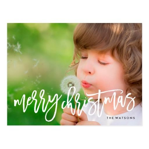 Merry Christmas Holiday Postcard #phrosnerasdesign #holidaycards #photocards #holidayphotocards #christmascards #merrychristmas #merry #christmas #zazzle #zazzlecards #greetingcards #zazzlephotocards #zazzleholiday #zazzleholidaycards #zazzlechristmas #blackfriday #cybermonday
