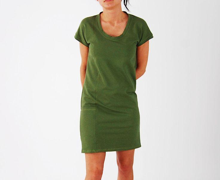 DALIA _ sukienka tuba _ zielona