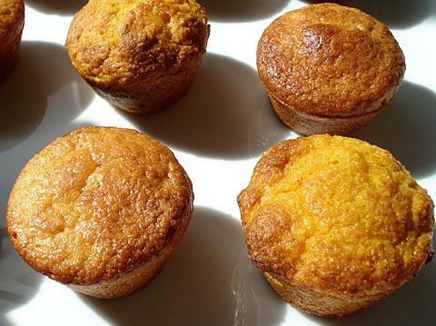 corn muffins (with a pumpkin option). use your favorite nondairy milk instead of the buttermilk.