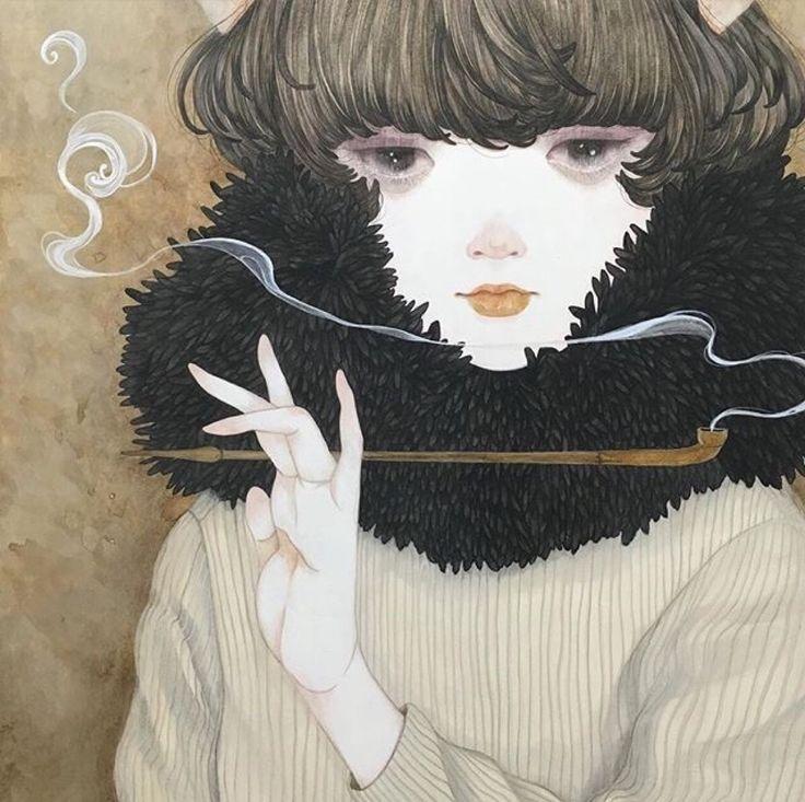 Sakuma Yuka 绘画作品