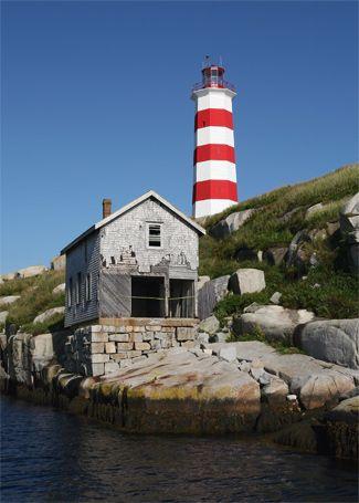 Sambro Island Lighthouse, Nova Scotia Canada at Lighthousefriends.com