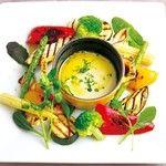 フランダース テイル - 料理写真:グリル野菜のバーニャカウダー