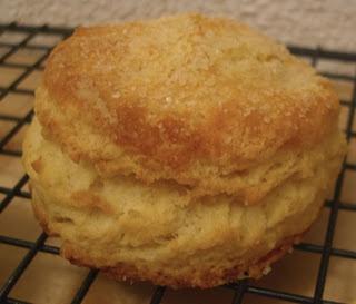 Biscuits w/ sugar on top.  Just like Lucille's.  Mmm mmm mmmmmm!