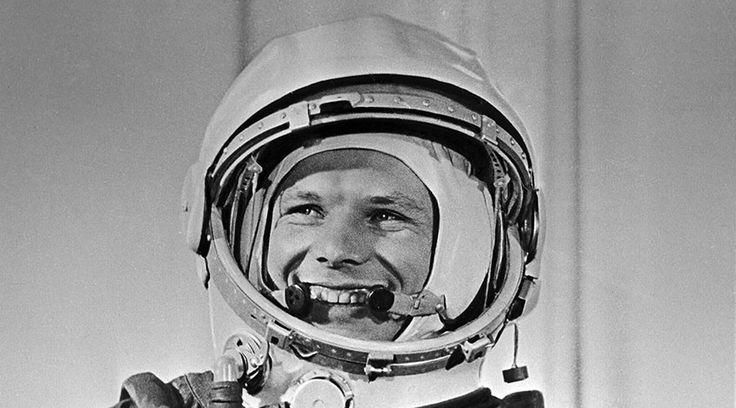 Yury Gagarin.
