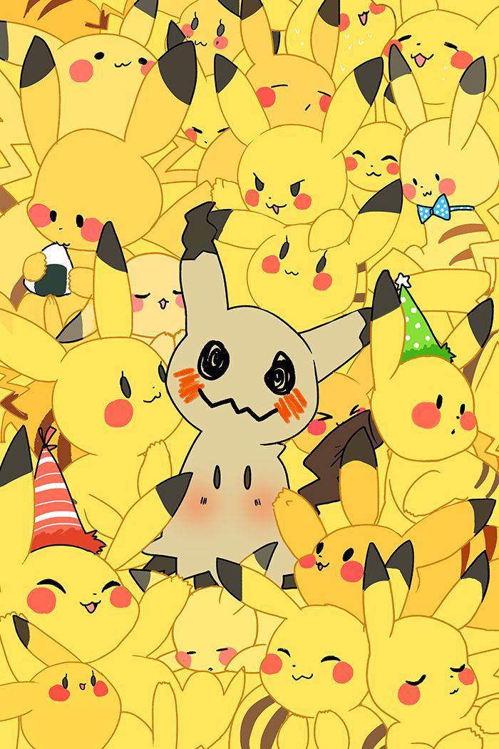 Pikachu and Mimikyu || Pokémon
