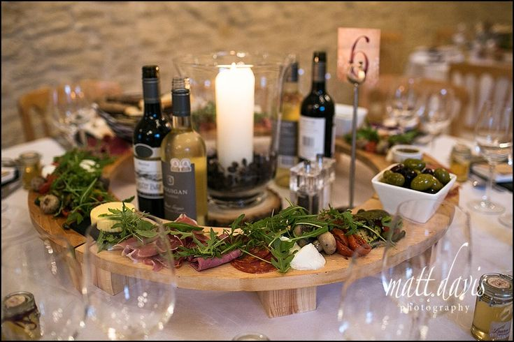 Strawberry Field Catering at Kingscote Barn Wedding