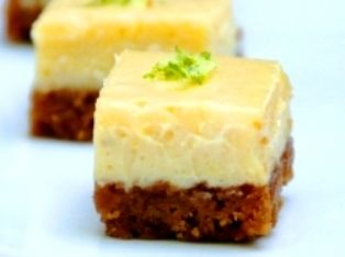 Lilikoi Lime Cookie Bars These luscious cookie bars may resemble ordinary lemon squares, but there's nothing ordinary about the flavors here. Tart passionfruit and tangy lime complement each other perfectly.