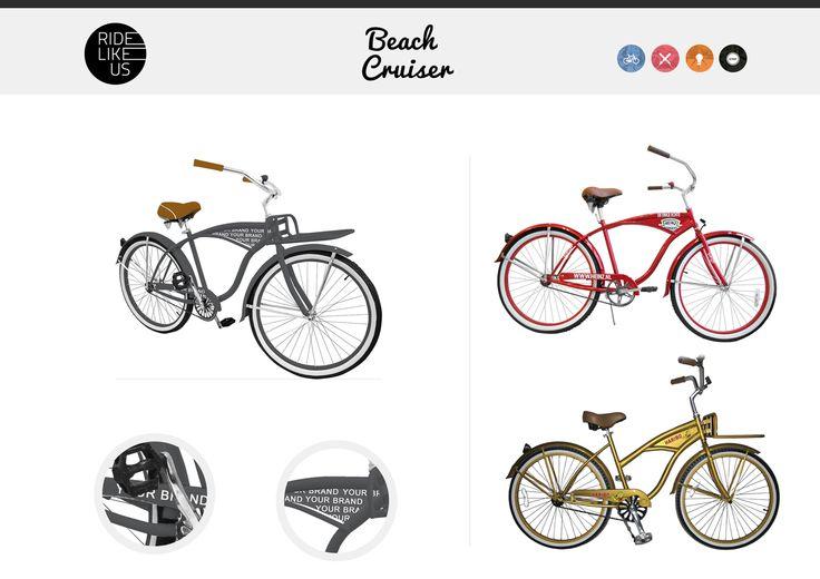 Your Brand Here - Beach Cruiser | Ride Like Us