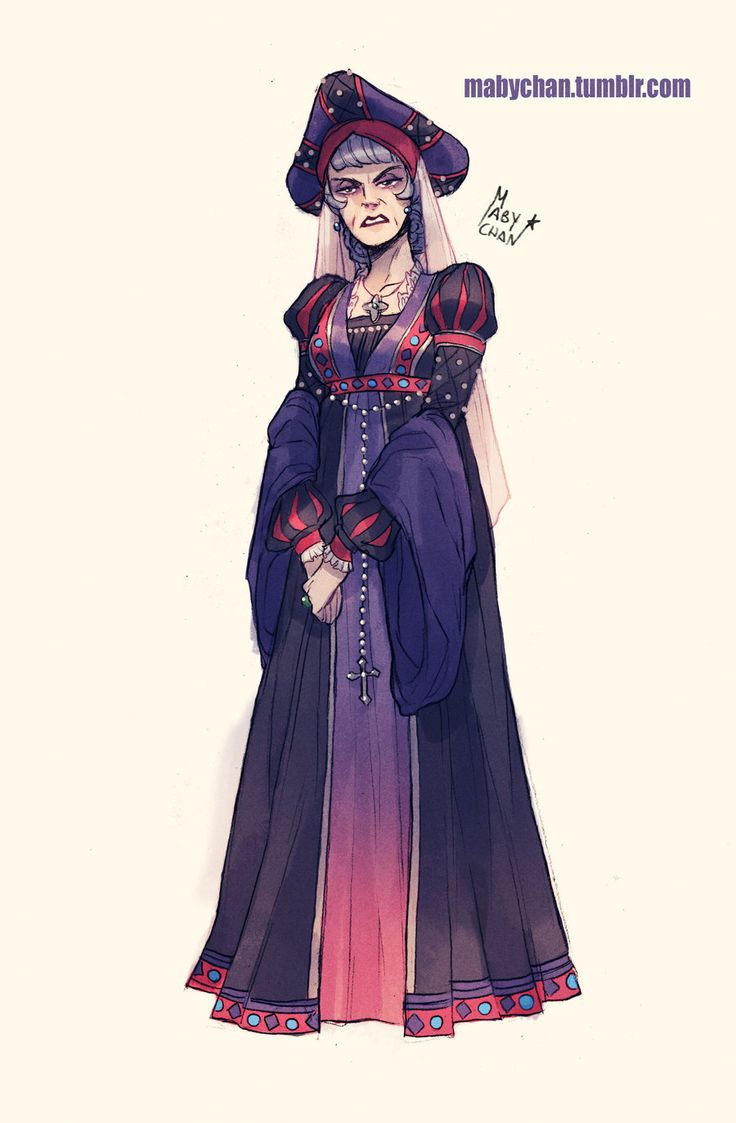 Fem!Frollo by MabyMin