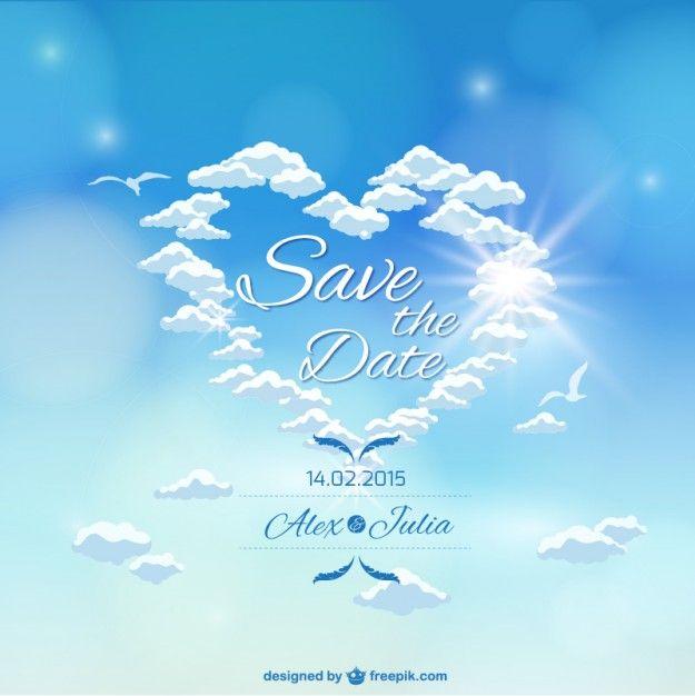 http://www.freepik.com/free-vector/heaven-sky-wedding-invitation_721772.htm