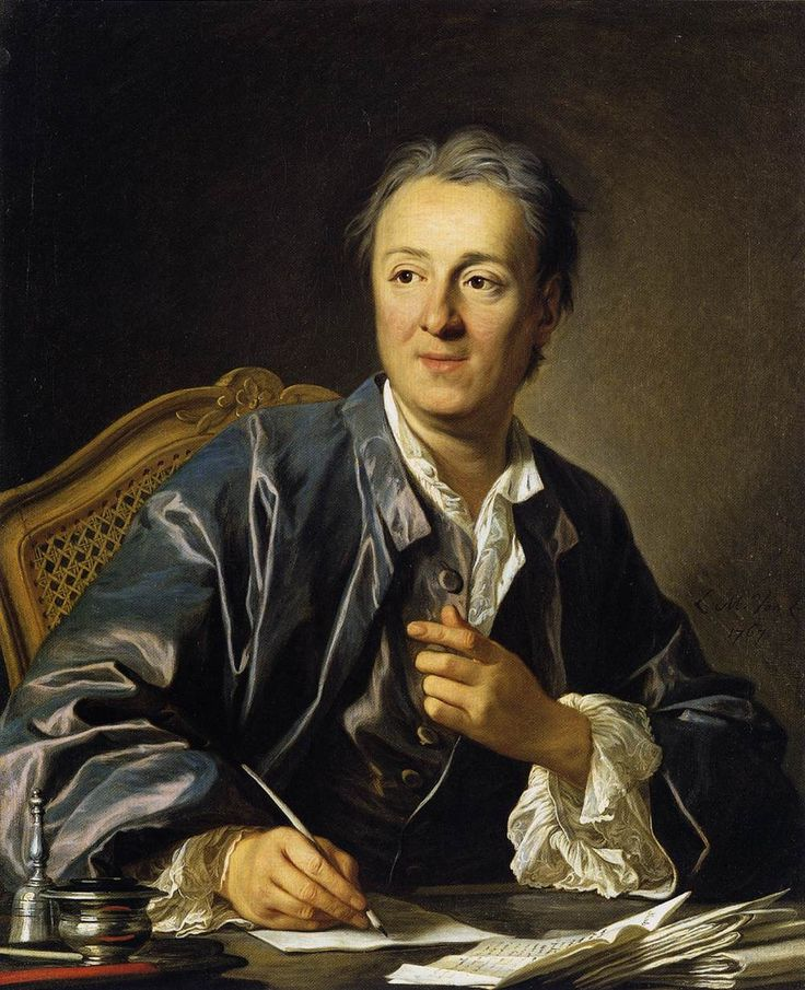 Portrait of Denis Diderot. 1767. Louis-Michel van Loo. Oil on canvas. Love the composition of this portrait.