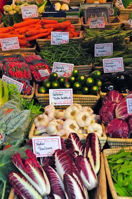 #Viktualienmarkt, the oldest market in #Munich, #Bavaria