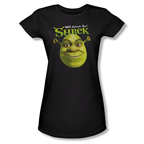 Shrek Animated Childrens Comedy 100 Percent Authentic Ogre Jrs Sheer T-Shirt @ niftywarehouse.com #NiftyWarehouse #Shrek #Movies #Movie