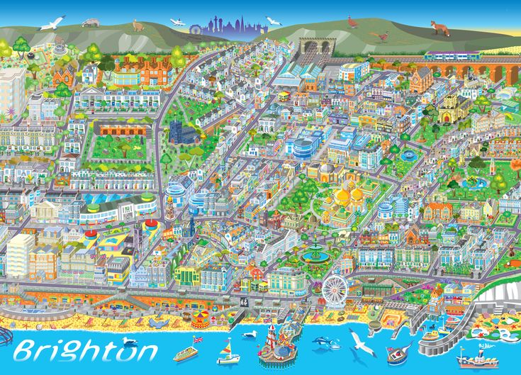 65 Best Images About Maps Brighton Amp Hove On Pinterest