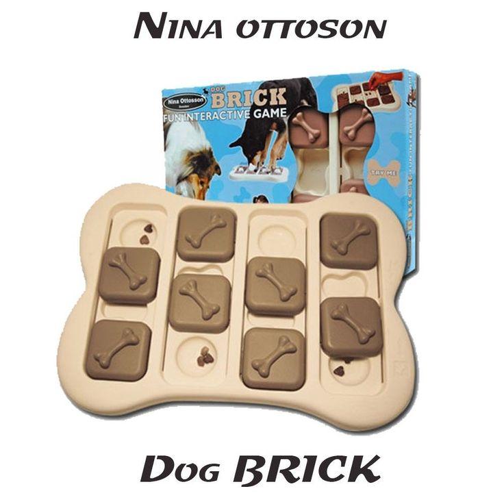 Dog Brick Jouet éducatif pour Chien et Chat Nina Ottosson  38e