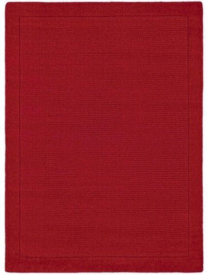 Wollteppich Uni in Rot - Schöne Einrichtung für die Weihnachtszeit #benuta #teppich #interior #rugs