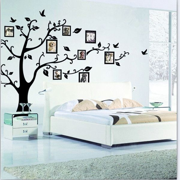 Family Picture Photo Frame Tree Wall Decals U0026u0026 Custom Photo Stickers   Make  Your Own Stickers Part 66