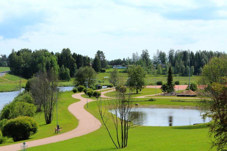 Urheilupuisto Kyrönjoen varrella, Kurikka, Etelä-Pohjanmaa