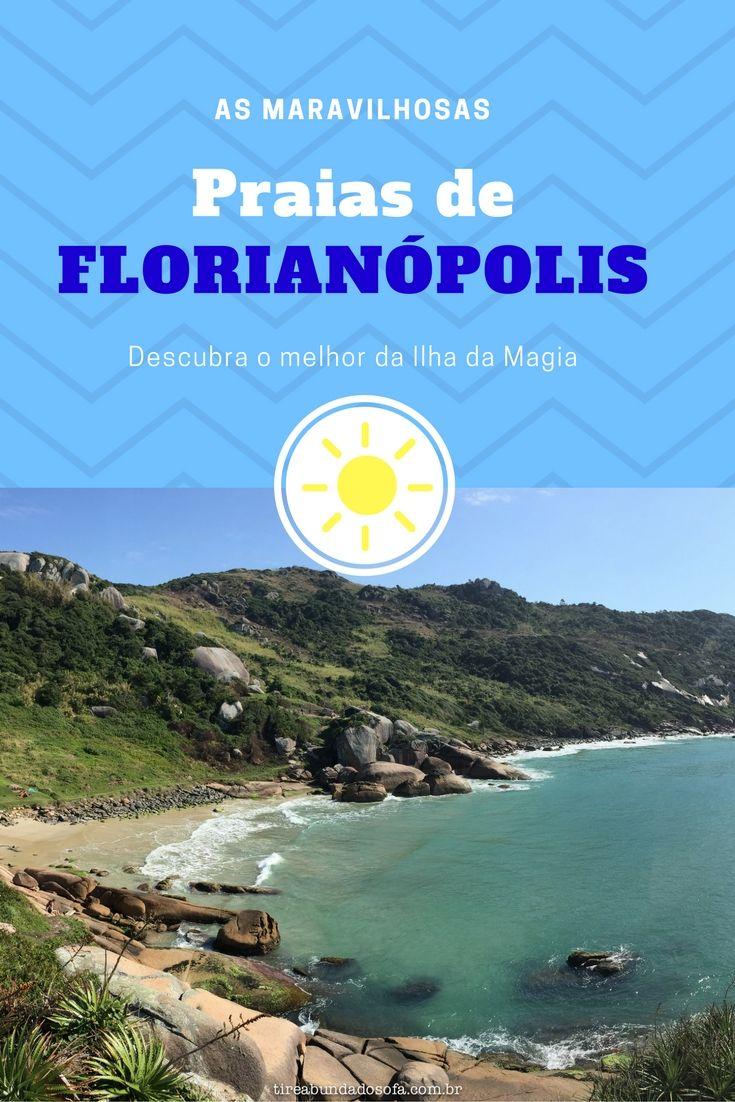 Florianópolis é recheada de praias incríveis, de águas limpas e cristalinas, de um incrível azul claro. Conheça as melhores praias da capital de Santa Catarina, destino muito procurado no Brasil.