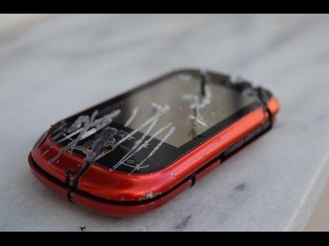 Drilling an Alcatel Smartphone!