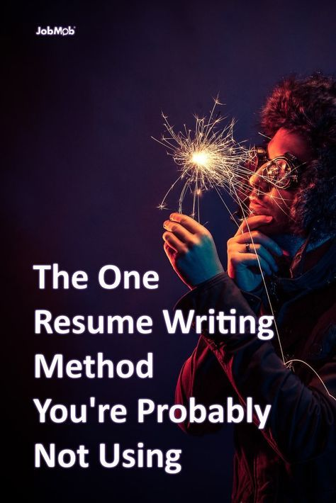 The One Resume Writing Method You're Probably Not Using https://jobmob.co.il/blog/effective-resume-writing-method/