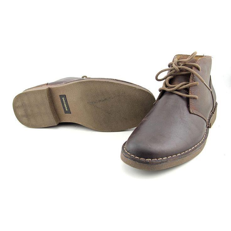 Dockers Tussock Men US 12 Brown Chukka Boot Pre Owned  1663 #Dockers #DesertBoots