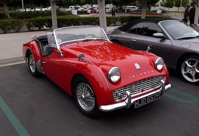 Triumph TR3 Cars & Coffee Built 1957 to 1962 in few
