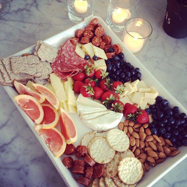 Beautiful cheese plate!