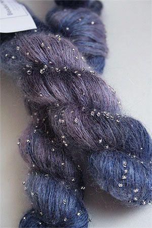 Artyarns Beaded Silk Mohair in H21 Silver More
