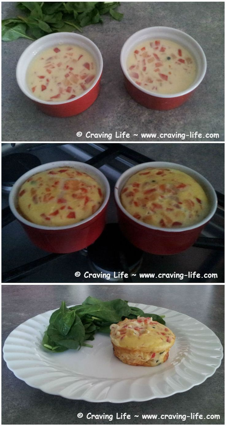 Less than 190 calories & over 20 g of protein. Wow! Tasty for breakfast, lunch or supper. Even better as leftovers the next day to take to work. :-) Recipe HERE: http://craving-life.com/recipes/smoked-salmon-quiche/