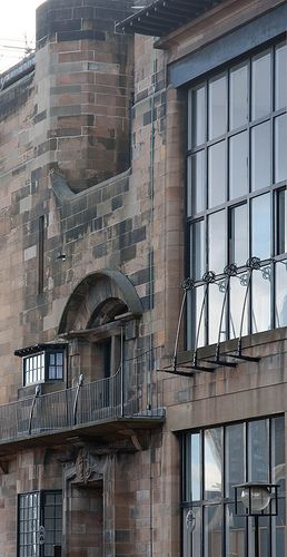 Glasgow School of Art, Charles Rennie Mackintosh. 1899. Glasgow, Scotland