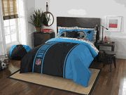 Carolina Panthers Soft & Cozy Full Size Comforter Set (Sheet Set, 2 Pillow Cases & 2 Shams)