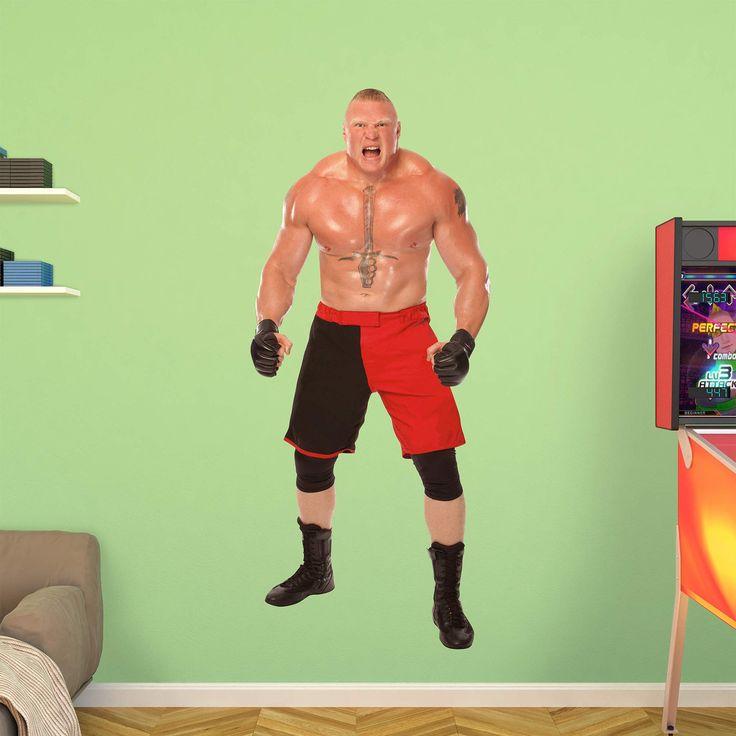 Fathead WWE Brock Lesnar Roar Wall Decal - 93-93023