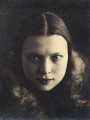 Wanda Wulz - Self-Portrait (Photograph Used in the Superimposed Photo Me and Cat) 1932